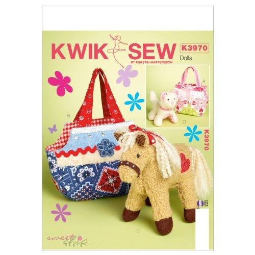 KWIK-SEW PATTERNS K3970 Nähvorlage für Taschen und Haustiere, Einheitsgröße