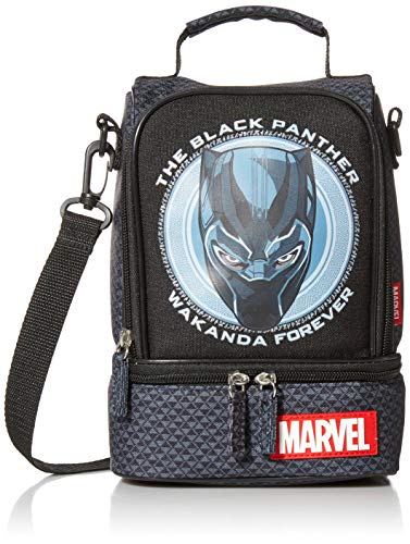 Marvel Black Panther Lunch Box Black