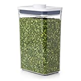 OXO NEW Good Grips POP Container - Airtight Food Storage - 2.7 Qt for Rice and More,Transparent