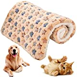 NALCY Manta para Perro Gato, Mascotas cojín, Franela Manta Perro Dormido compresa Caliente, Cama de Perro sofá Mantas para Perros, Gatos, Conejos y Otras Mascotas (55 * 42 CM)