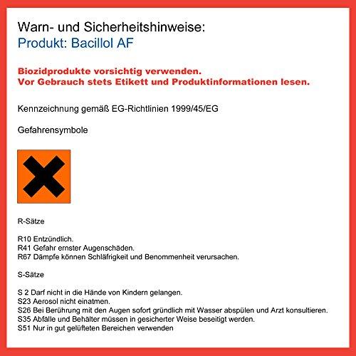 Bacillol 973380 Schnelldesinfektionsmittel AF, 1 L - 2