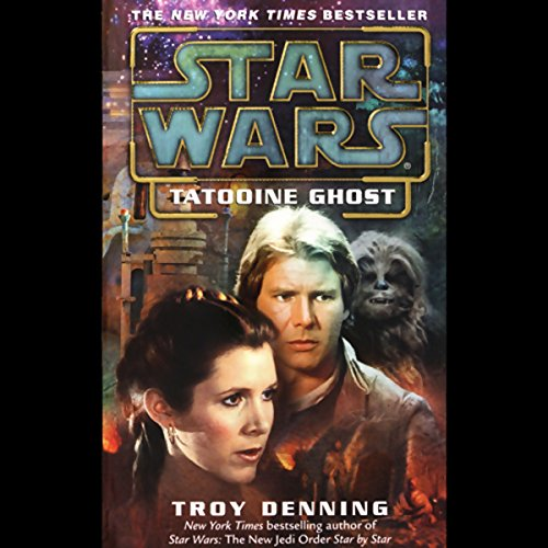 Star Wars: Tatooine Ghost audiobook cover art