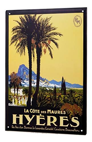 LEotiE SINCE 2004 Plaque en Métal Métallique Poster Mural tin Sign Ale Aventurier Hyères France