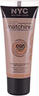 Skin Matching Foundation by NYC, 695 Cocoa Light