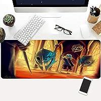 アンダーテール Undertale ィグマウスパッドXLサイズ90cmx40cm×0.3cmコンピューターマウスパッドラージマウスパッドゲームテーブルパッド滑り止め天然ゴムマウスパッド-アニメ_900×400×3mm