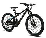 Bicicleta De Montaña, Velocidad Variable para Adultos, 21 Velocidades, Freno De Disco Doble, Bicicleta De Montaña De 24 Pulgadas para Ejercicio De Viaje En Bicicleta Al Aire Libre A