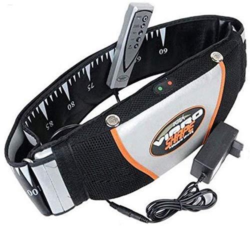Cinturón De Adelgazamiento Vibratorio Eléctrico Masaje Térmico Ejercicio Vibratorio Masaje Cinturón De Fitness Cinturón De Recorte Quemador De Grasa Herramienta De Vibración De Fitness Para Mujeres Y