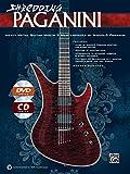 Shredding Paganini: Heavy Metal Guitar Meets 9 Masterpieces by Niccolo Paganini, Book, CD & DVD (Shredding Styles)