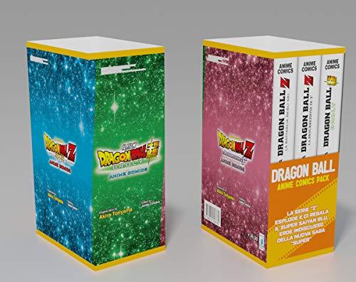 Dragon ball. Anime comics pack