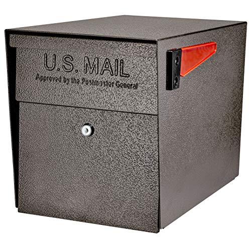 Mail Boss 7108 Security, Bronze Curbside Locking Mailbox,Medium