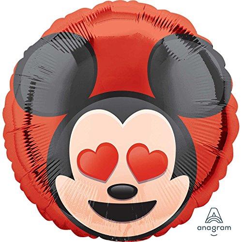Emoji Globos de lámina estándar HX de Mickey Mouse