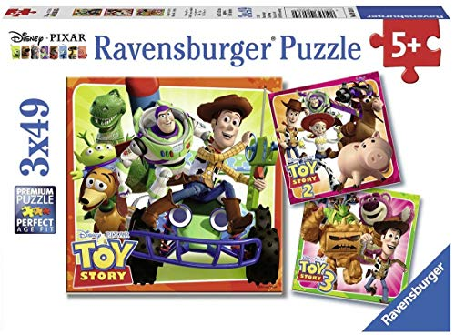Ravensburger Disney Toy Story: History Puzzle Set (3 x 49 Piece)