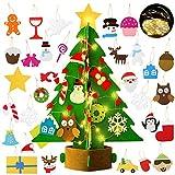 Bageek árbol de navidad de fieltro diy,3D Árbol de Navidad Artificial de Fieltro...