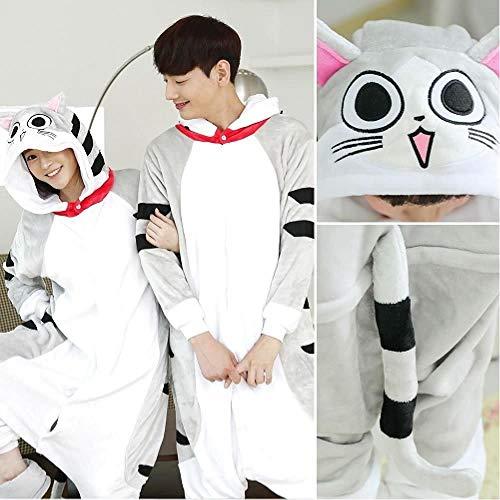TQSDYY Pijamas De Mujer Invierno Unicornio Panda Gato Traje Juvenil Traje para Padres E Hijos Adultos Hombres Mujeres