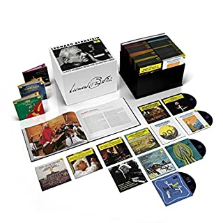 Complete Recordings On Deutsche Grammophon & Decca (121 CD + 36 DVD + Blu-ray) by Bernstein, Leonard (B0787H5939) | Amazon price tracker / tracking, Amazon price history charts, Amazon price watches, Amazon price drop alerts