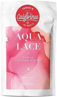 Beauty Logic USA Ultra Invisible Aqua Lace Eyelid Lift Kit 120pcs, Self Adhesive Blends Into Eyelids No Glare Non Surgical...