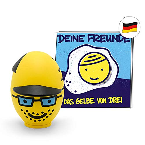 tonies Hörfiguren für Toniebox - Deine Freunde - Das Gelbe von DREI - ca. 55 Min. - Ab 4 Jahre -DEUTSCH