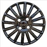 EET Klassische Radkappen Set 15 Zoll Radzierblenden Persönlichkeit Galvanisieren Universal Autoteile Wheel Trims, Bright Black,...