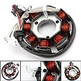 Artudatech Alternador de motocicleta Magneto, bobina de estator de motor, generador magnético de motocicleta, generador de encendido para Yamaha XT125 X/R YBR125 2005-2014