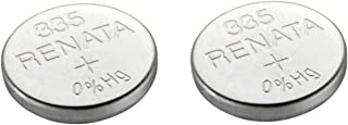 RENATA Lot de 2 Blisters de 1 Pile bouton oxyde argent X335 SR512SW