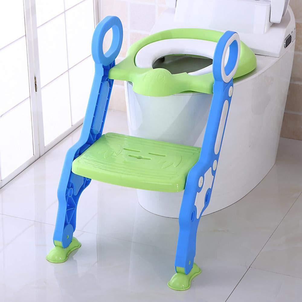 Creativem Niño Orinal, Asiento de Entrenamiento para IR al baño con Escalera, potamente de Entrenamiento para