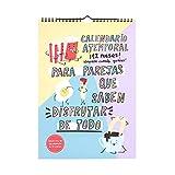 Pedrita Parker Calendario atemporal para parejas