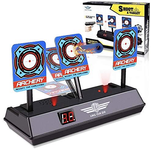 Electronic Shooting Target,Auto Scoring Reset Digital Targets for Nerf guns Toys, fantastic gift toy for kids- boys & girls