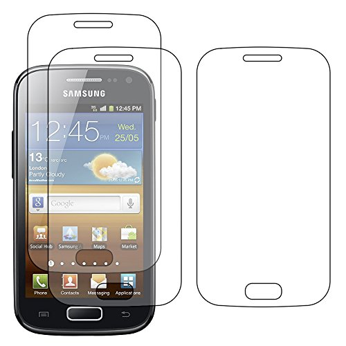 ebestStar - Pack x3 Protector Pantalla Compatible con Samsung Ace 2 Galaxy...