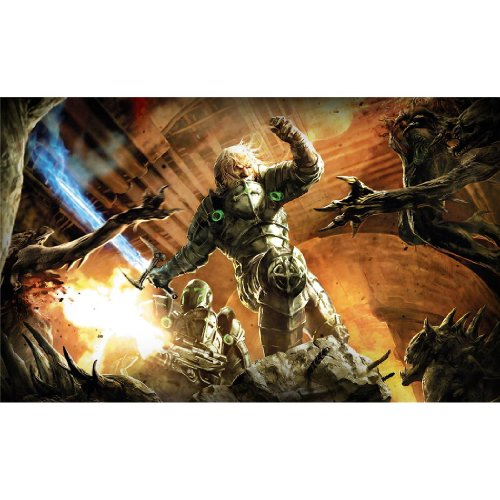 Monty Arts Hellgate London Poster by Silk Printing # Size About (57cm x 35cm, 23inch x 14inch) # Unique Gift # 28FEA1