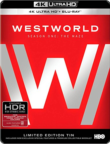 Price comparison product image Westworld: The Complete First Season 4K Ultra HD (Limited Edition) [Blu-ray]