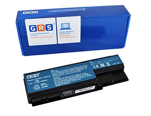 GRS Batterie AS07B41 pour Acer Aspire 5920G 6920G 5520G 7720G 8920G 6920 7520G remplacé: AS07B31 AS07B32 AS07B41 AS07B42 AS07B51 AS07B52 AS07B71 AS07B72