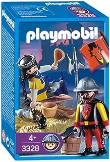 Playmobil Principe Prisionero Y Guardian
