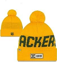 Knit Hat NFL On Field Sideline Sport Knit Winter Beanie Pom Hat Cap