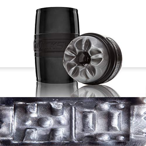 Fleshlight Quickshot Boost | Black Discreet Portable Case | Oral Stimulation Helper