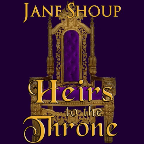 Heirs to the Throne audiobook cover art