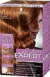 Schwarzkopf Color Expert Intensiv-Pflege Color-Creme, 7.7 Kupfer Dunkelblond Stufe 3, 3er Pack (3 x...