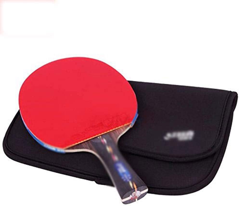 KDKDA Ping Pong Paddle Set Raquetas Premium 1 pieza Raquetas de tenis de mesa 1 pieza Bolsa de raqueta 2 piezas Película protectora Control de velocidad avanzado y Spin Jugar en interiores o exteriore