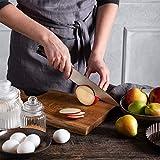 PAUDIN Kochmesser Küchenmesser 20cm Profi Messer Chefmesser Allzweckmesser aus hochwertigem Carbon Edelstahl, Extra Scharfe Messerklinge mit ergonomischer Griff - 5