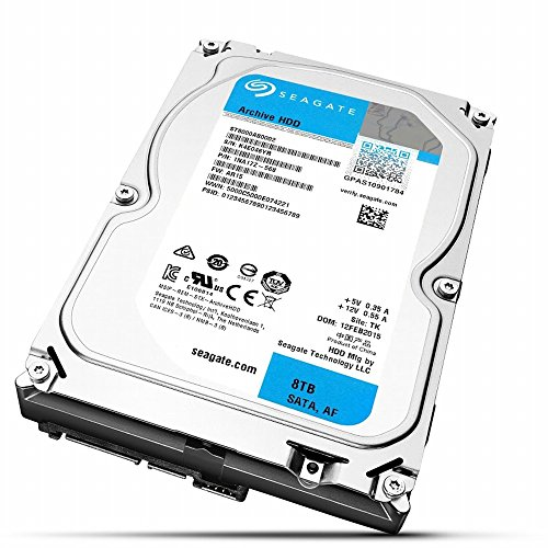 Seagate Archive HDD 3.5inch SATA3 8TB ST8000AS0002