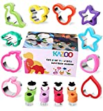 Kazoo Holiday Cookie Cutters-Sandwich Cutters for kids,Animal,Cartoon and Various Shapes Christmas Gifts for kids-18pcs kazoo Oct, 2020