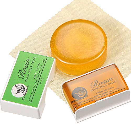 2 Pieces Rosin Low Dust Bows Rosin Natural Rosin for Violin, Viola, and...