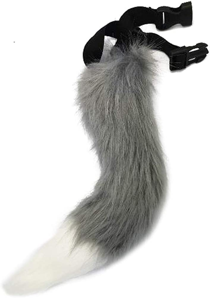 QZERPLAY Children Faux Fur Tail for Cosplay Halloween Party