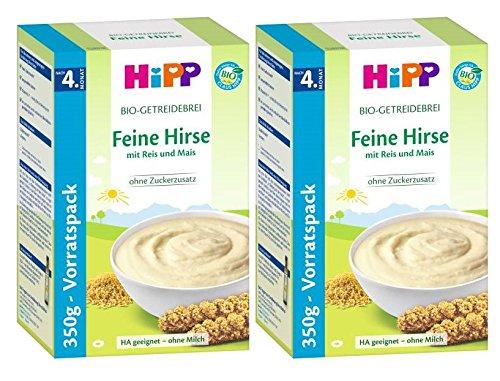 Hipp Brei Feine Hirse, 2er Pack (2 x 350g)
