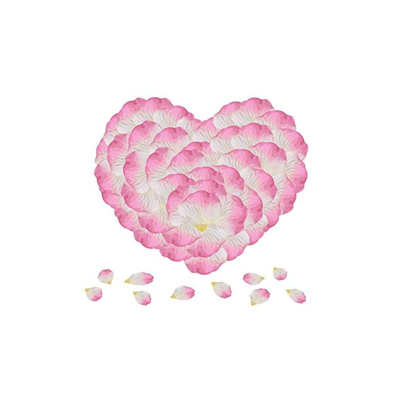 silk flower arrangements knr harmony flower petals 1200pcs pink silk rose petals for romantic night wedding party valentine's day decoration