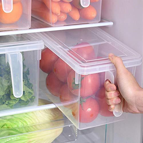 Recipiente Hermetico Recipiente Microondas Cristal Tapers Para Comida Hermetico Cocina Transparente Caja...
