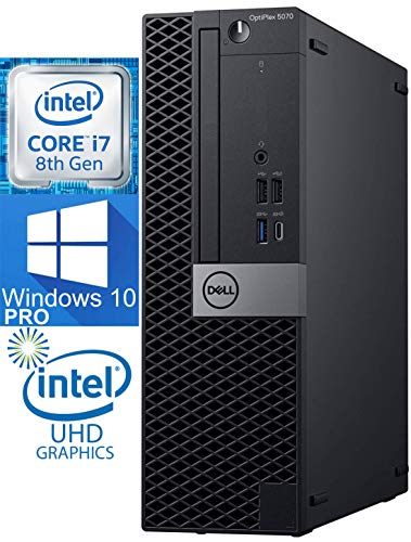 Dell OptiPlex 5070 SFF Desktop Computer