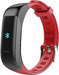 Pulsera Actividad Carga magnética, Reloj Inteligente con Auriculares Bluetooth Dos en uno Monitor de Sueño Pulsómetro Pulsera Monitor Pulsera Deportiva Impermeable PulseraInteligente