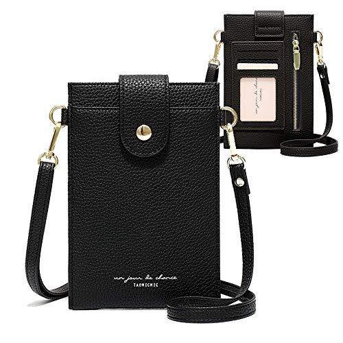 Womens Crossbody Cellphone Bag Small Shoulder Purse Card Holder Wallet Pouch