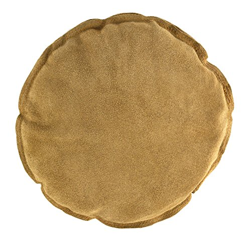 """10"""" Diameter Round Leather Leather Sandbag Cushion for Metal Dapping Stamping Hammering Chasing Forming Jewelry Tool"""
