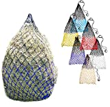 Derby Originals Superior Slow Feeder Soft Mesh Hanging Hay Net for Horses Available in 4 Sizes